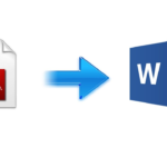 Convert PDF To Word Anytime And Anywhere!